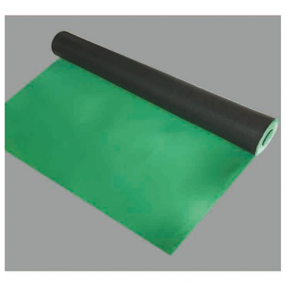 1.5 mm Special Green Rubber Foam with PE Film